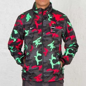 Nike AS FCRB Storm-Fit Warm Up Jacket camo